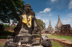 Wat Phra Sri Sanphet. Is situated on the city island in Ayutthaya's World Heritage Stock Photography