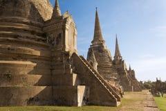 Wat Phra Sri Sanphet Temple, Ayutthaya Royalty Free Stock Photo
