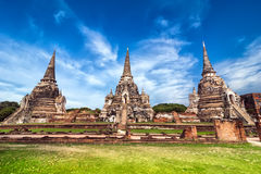 Wat Phra Sri Sanphet temple. Ayutthaya, Thailand Royalty Free Stock Photo