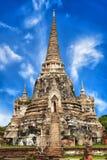 Wat Phra Sri Sanphet temple. Ayutthaya, Thailand Royalty Free Stock Image