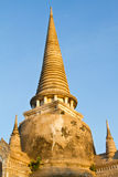 Wat Phra Sri Sanphet Temple, provincia di Ayutthaya, Tailandia Immagine Stock