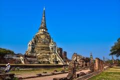 Wat Phra Sri Sanphet the world heritage site in ayutthaya, Thailand Royalty Free Stock Photo