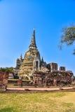 Wat Phra Sri Sanphet the world heritage site in ayutthaya, Thailand Stock Image
