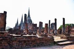 Wat Phra Sri Sanphet the world heritage site in ayutthaya, Thailand Royalty Free Stock Photos