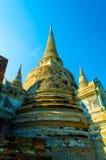 Wat Phra Srisanpetch Fotografia Stock