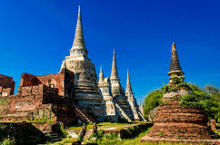 Wat Phra Srisanpetch. Ayuttaya Thailand Royalty Free Stock Images