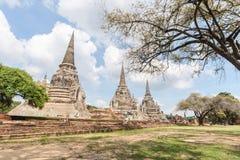 Wat Phra Srisanphet in Ayutthaya, Thailand. Stock Photography