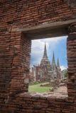 Wat Phra Srisanphet in Ayutthaya, Thailand. Royalty Free Stock Photography