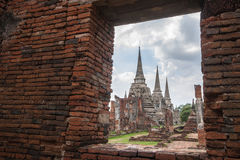 Wat Phra Srisanphet in Ayutthaya, Thailand. Stock Images