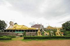 Wat Phra That Suthon Mongkhon Khiri, Phrae, Tailândia fotografia de stock