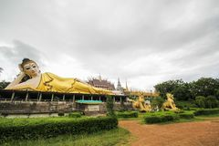 Wat Phra That Suthon Mongkhon Khiri, Phrae, Thailand. Beautiful and famous temple Royalty Free Stock Photo