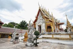 Wat Phra That Suthon Mongkhon Khiri, Phrae, Thailand. Beautiful and famous temple Stock Photos