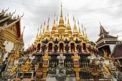 Wat Phra That Suthon Mongkhon Khiri, Phrae, Thailand. Beautiful and famous temple Stock Image