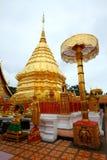 Wat Phra Tat Doi Su Tep, Thailand Arkivfoto