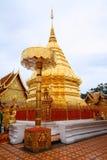 Wat Phra Tat Doi Suthep Thailand Arkivfoto