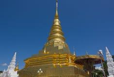 Wat Phra Ten Chae Haeng przy Nan Tajlandia Obraz Stock