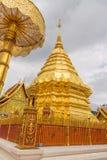 Wat Phra Ten Doi Suthep świątynia Obraz Stock