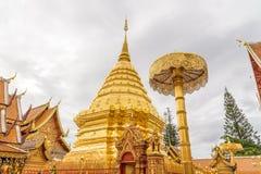 Wat Phra Ten Doi Suthep świątynia Obraz Royalty Free