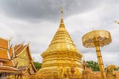 Wat Phra Ten Doi Suthep świątynia Fotografia Stock