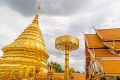 Wat Phra Ten Doi Suthep świątynia Obrazy Stock