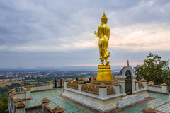 Wat Phra Ten Kao Noi przy Nan Obraz Royalty Free