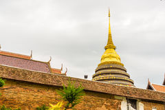 Wat Phra Ten Lampang Luang świątynia Zdjęcie Stock