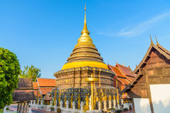 Wat Phra Ten Lampang Luang świątynia Obraz Royalty Free