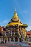 Wat Phra Ten Lampang Luang świątynia Obrazy Stock