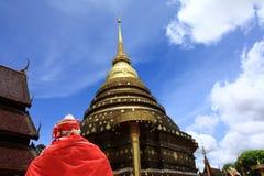 Wat Phra Ten Lampang Luang (Buddyjska świątynia) Zdjęcie Royalty Free