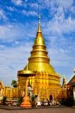 Wat Phra Ten Mon Haripunchai Fotografia Royalty Free
