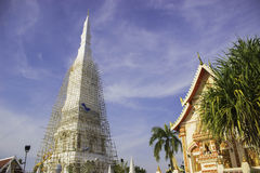 Wat Phra That Tha Uthen Nakhon Phanom Stock Photo