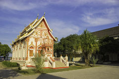 Wat Phra That Tha Uthen Nakhon Phanom Royalty Free Stock Photography
