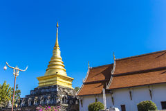 Wat Phra Thad Chang Kham Lizenzfreies Stockbild