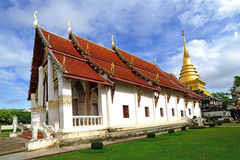 Wat Phra Thad Chang Kham, Nan Thaila Royalty Free Stock Photography