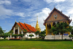 Wat Phra Thad Chang Kham, Nan Thaila Royalty Free Stock Photo