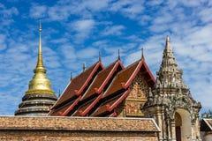 Wat Phra Thad Lampang Luang Immagine Stock