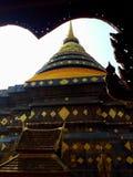 Wat Phra Thad Lampang Luang. LAMPANG, THAILAND stock photo