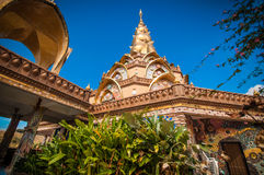 Wat Phra-thad Phasornkaew Stockbilder