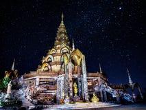 Wat Phra Thart Pha Kaew, Khao Kor, Phetchabun,在北部中心的泰国 免版税库存照片