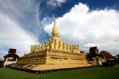 Wat Phra That Luang Stock Photo