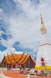 Wat Phra Trad Choeng Chum, Tailandia Foto de archivo libre de regalías