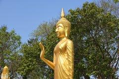 Wat-phra Yai, Buddha-Tempel Pattaya stockfoto