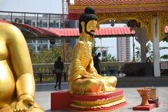 Wat-phra Yai, Buddha-Tempel Pattaya lizenzfreie stockbilder