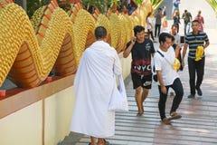 Wat-phra Yai, Buddha-Tempel Pattaya stockbilder