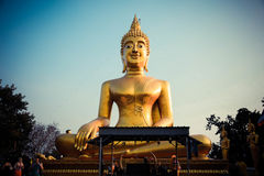 Wat Phra Yai Pattaya Lizenzfreies Stockbild