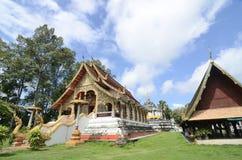 Wat Phra Yuen: μια από τη διάσημη θέση σε Lamphun, Ταϊλάνδη Στοκ φωτογραφίες με δικαίωμα ελεύθερης χρήσης