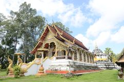 Wat Phra yuen : one of the famous place in Lamphun, Thailand. Stock Photography