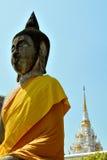 Wat phraboromthat chaiya. Buddha at wat phraboromthat chaiya - surattani  southern of thailand Stock Photography
