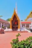 Wat phraboromthat chaiya. Surattani  southern of thailand Royalty Free Stock Photography