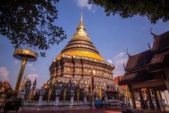 Wat Phradhart Lampangluang висок Стоковая Фотография RF